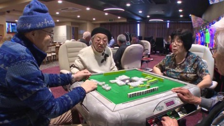 Gambling away dementia? Japan's seniors turn to chance to stay sharp