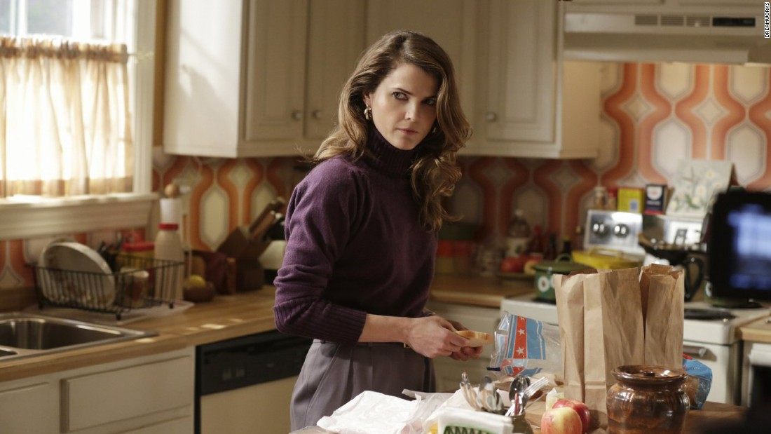 "<strong>""The Americans"":</strong> Real-life loves Keri Russell and Matthew Rhys star as a pair of KGB officers posing as an American married couple in the 1980s in this FX series. <strong>(Amazon Prime) </strong>"