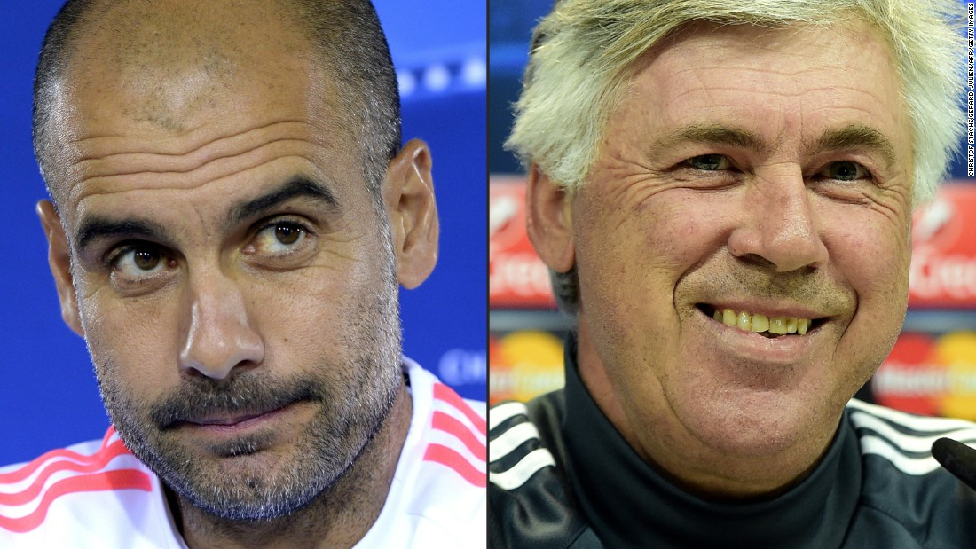 Guardiola was succeeded at Bayern by former Real Madrid, AC Milan, Paris St. Germain and Chelsea coach Carlo Ancelotti.