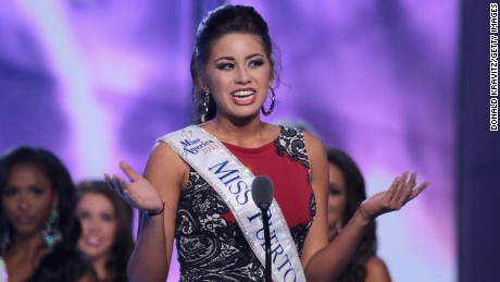 Destiny Velez has been suspended indefinitely by the Miss Puerto Rico Organization.