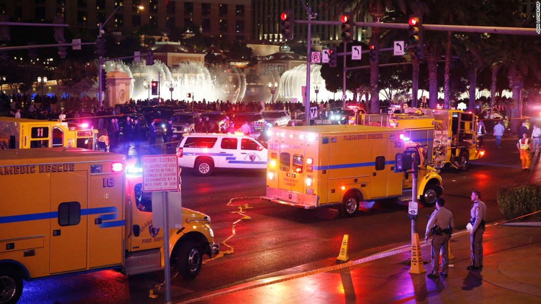 Emergency crews respond to the scene on December 20.