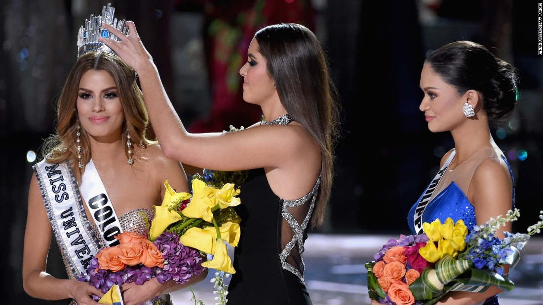 Miss Universe 2018 Winner >> Wrong contestant crowned at Miss Universe 2015 - CNN
