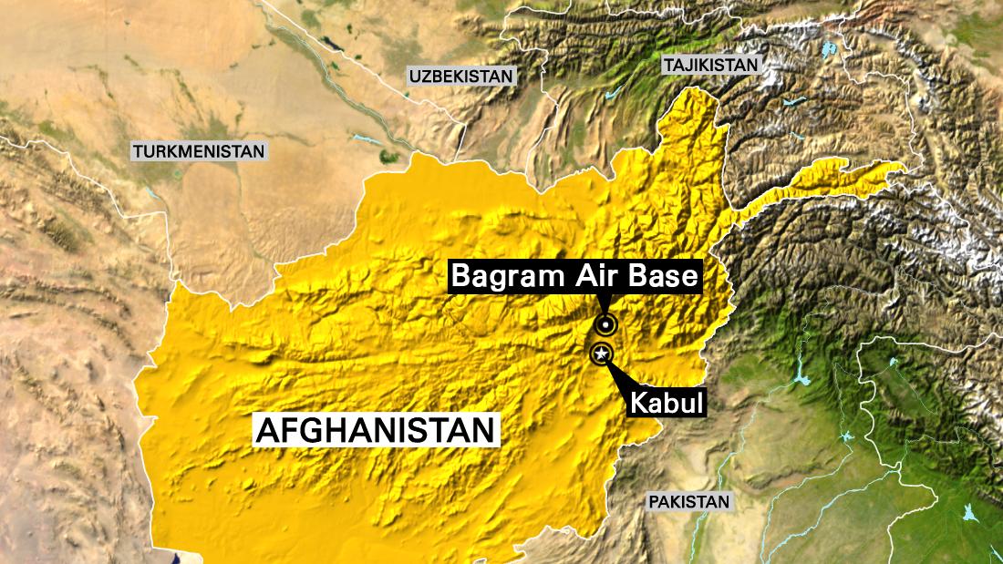 bagram airfield 4 dead in blast at us base in afghanistan cnn