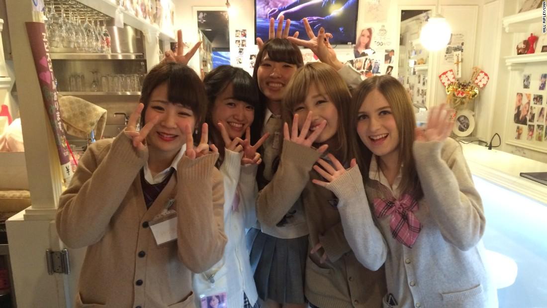 Japan Young School Girl