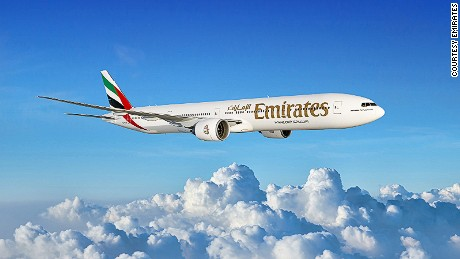 One of the aircraft was an Emirates airline plane, according to a statement issued by the Bahraini Foreign Ministry.