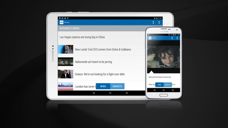 Cnnmoney On Android
