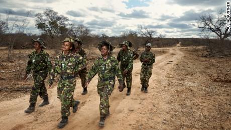 The Black Mambas: Savior to rhinos, scourge to poachers - CNN