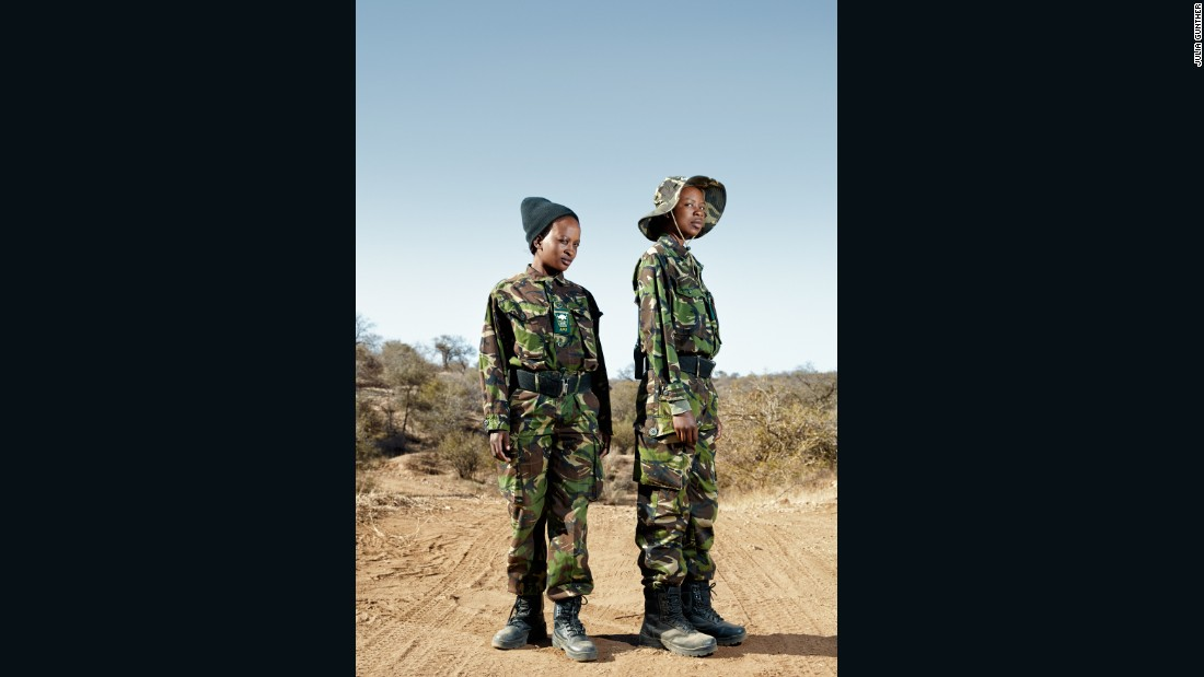 The Black Mambas boast 26 members, including Felicia (left) and Joy (right).