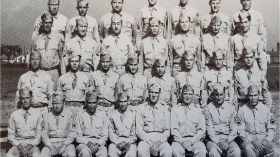 Master Sgt. Roddie Edmonds, first row, second from left,  became a POW.