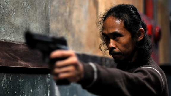 """Best known as 'Mad Dog' in """"The Raid,"""" Yayan Ruhian was drafted in by Abrams to appear as Tasu Leech, a member of the infamous space pirate gang Kanjiklub."""