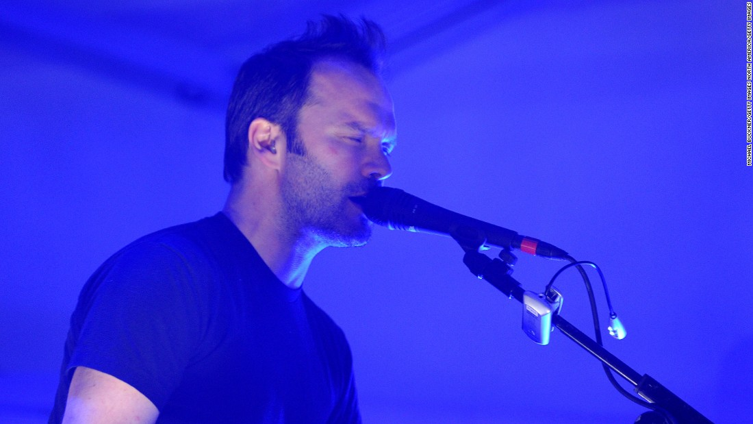Radiohead producer and Atoms for Peace band member Nigel Godrich also donned the iconic helmet as Stormtrooper FN-9330.