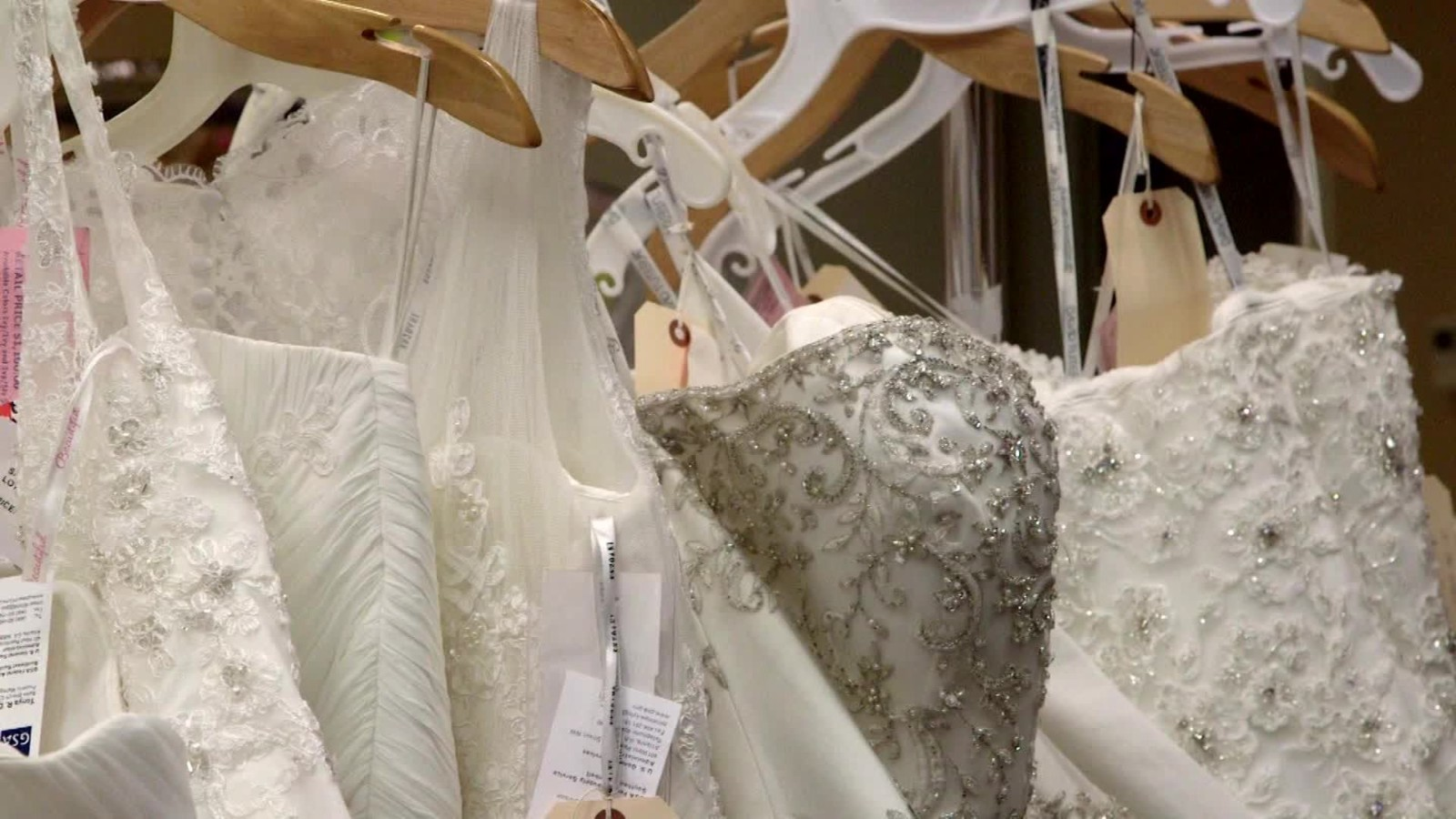Holiday Gift Guide Government Seized Wedding Dresses