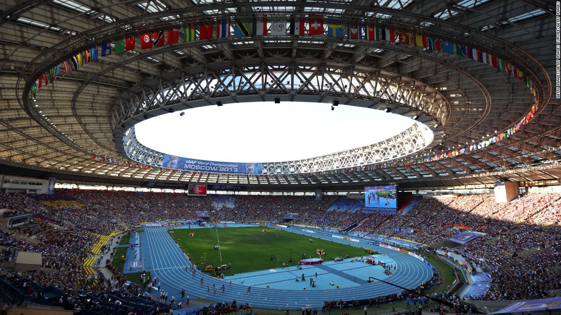 The 2013 World Athletics Championships was the biggest sports event Russia had held since Moscow staged the Summer Olympic Games in 1980.