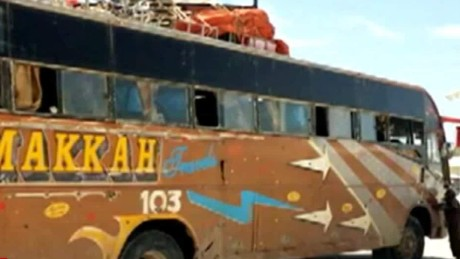 Al-Shabaab attacked this bus last December in northeast Kenya.