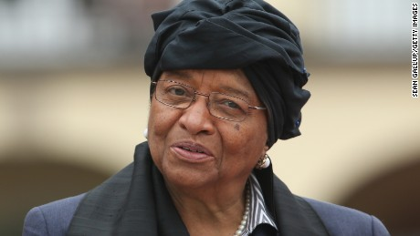 Ellen Johnson Sirleaf made history as Africa's first female president.