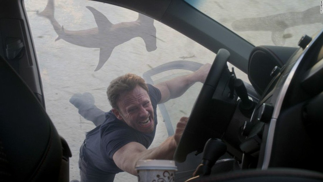 "<strong>""Sharknado 3: Oh Hell No""</strong>: Ian Ziering returns for the third installment of the ""Sharknado"" TV movie franchise. In this one, a vortex of airborne sharks attacks Washington and then threatens Florida's theme parks. <strong>(Netflix) </strong>"