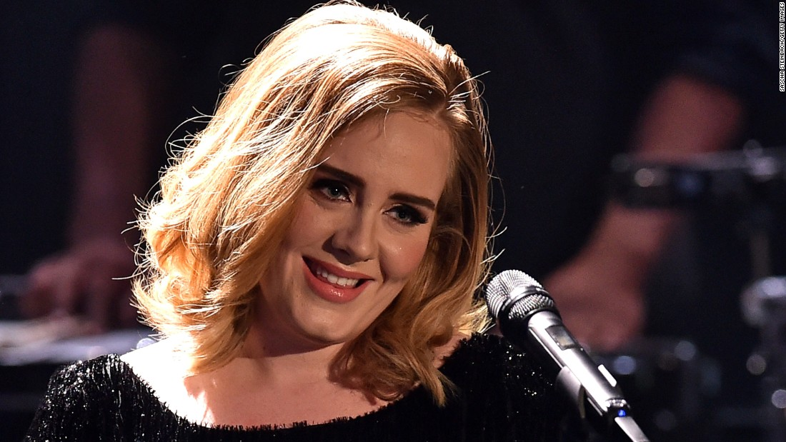 Singer Adele's latest record broke more records.