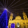 Christmas lights 2015 Hungary