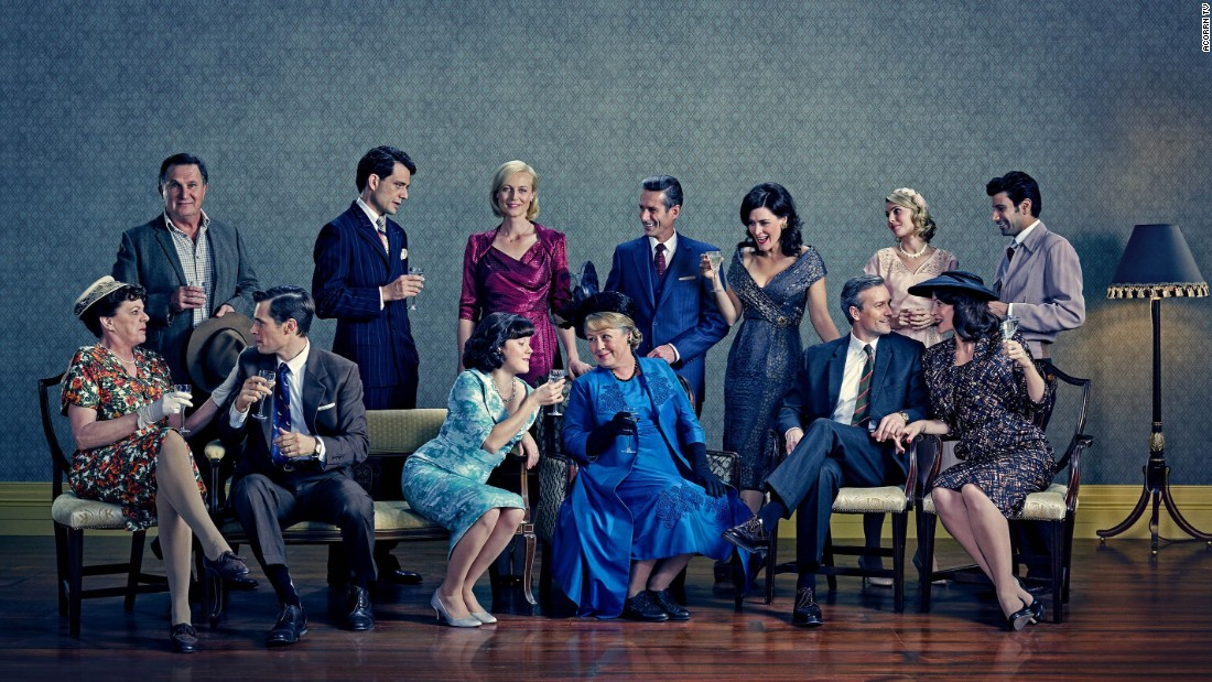 "<strong>""A Place to Call Home""</strong>: The Australian drama series continues with new challenges for resolute nurse Sarah Adams and the aristocratic Bligh family. <strong>(Acorn TV) </strong>"