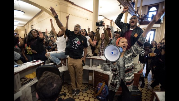 Racial tensions led to a weekslong protest movement at the University of Missouri campus that ousted both the university president and the school