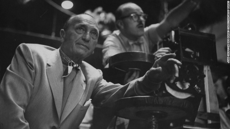 michael curtiz behind the scenes during the filming of white christmas - Black And White Christmas Movie