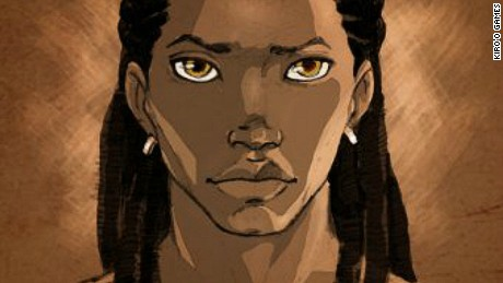 An early design for Enzo, the hero of Aurion: Legacy of the Kori-Odan
