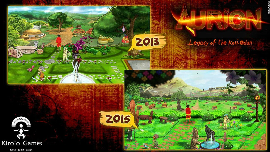 The world created in Aurion is inspired by African folklore and mythology
