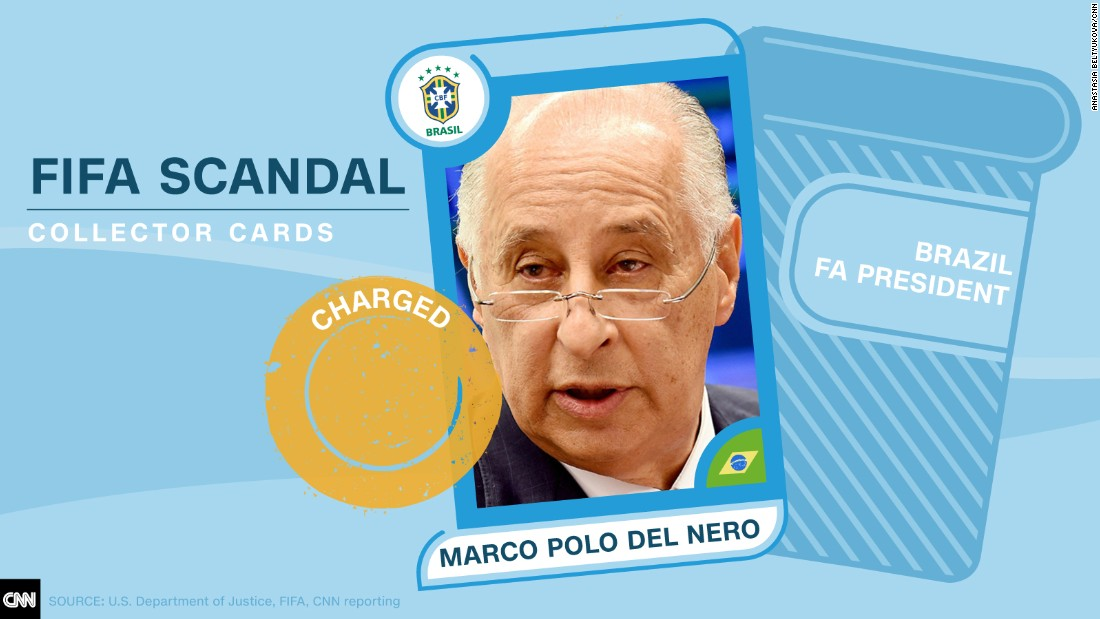 FIFA scandal collector cards Nero