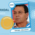 FIFA scandal collector cards Callejas