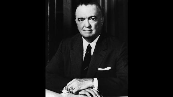 Former FBI director, J. Edgar Hoover was born on January 1, 1895, in Washington.