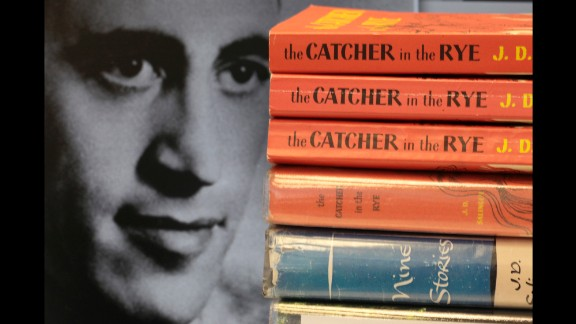 """J.D. Salinger, author of """"The Catcher in the Rye"""" and other classics, was born on January 1, 1919, in New York."""
