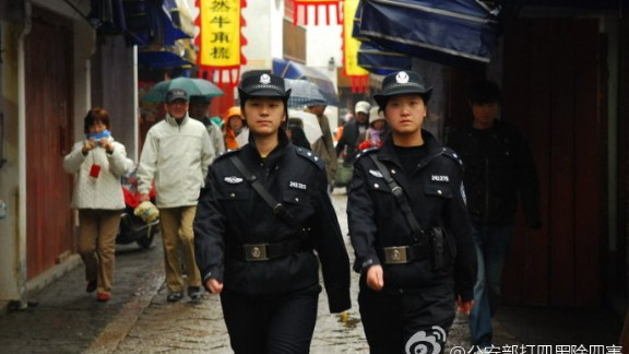 While these security measures coincided with the British and U.S. embassies' warning of threats against Westerners in Beijing on Christmas eve, Chinese security officials have not named any specific terror threat they are facing or mentioned cooperation with foreign governments.