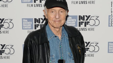 "NEW YORK, NY - OCTOBER 06:  Cinematographer Haskell Wexler attends the ""Rebel Citizen"" screening during 53rd New York Film Festival at The Film Society of Lincoln Center, Walter Reade Theatre on October 6, 2015 in New York City.  (Photo by Andrew Toth/Getty Images)"