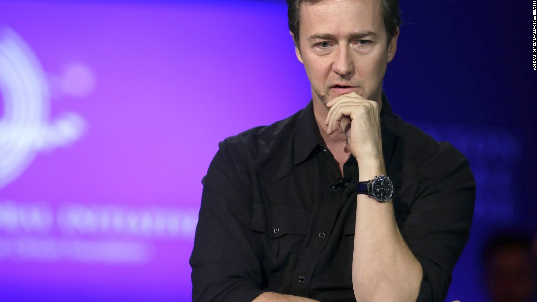 "The American actor and filmmaker launched a <a href=""https://cdn.crowdrise.com/thescientist#"" target=""_blank"">Crowdrise campaign </a>to help <a href=""http://money.cnn.com/2015/12/16/news/ed-norton-crowdrise-campaign-syrian-refugee/"">raise funds for a Syrian refugee</a> who lost seven family members, after reading his story on Humans of New York."