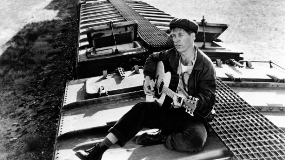 "David Carradine plays singer Woody Guthrie in 1976's ""Bound for Glory,"" directed by Hal Ashby, which won Wexler his second Oscar. Though Carradine was apparently not a fan of the look, Wexler was highly praised for his imagery, some of which evoked Walker Evans' Depression-era photographs."