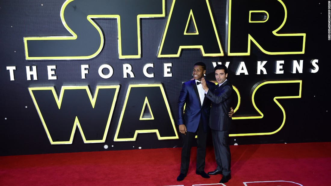 "With ""Star Wars: The Force Awakens"" breaking many box office records in the movie theater, there's a good chance that John Boyega, left, and Oscar Isaac and will become household names. How they will fare based on the success of ""Star Wars"" (and possible more in the series), we'll find out."