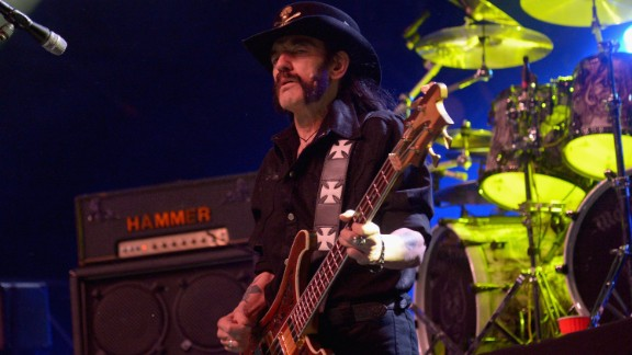 Legendary Motorhead frontman Lemmy Kilmister died Monday, December 28 after a short battle with cancer, his bandmates announced. He was 70.