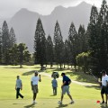 barack obama golf hawaii