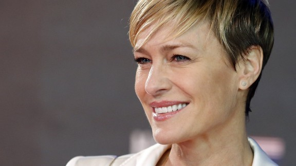 """""""House of Cards"""" star Robin Wright turned 50 on April 8."""