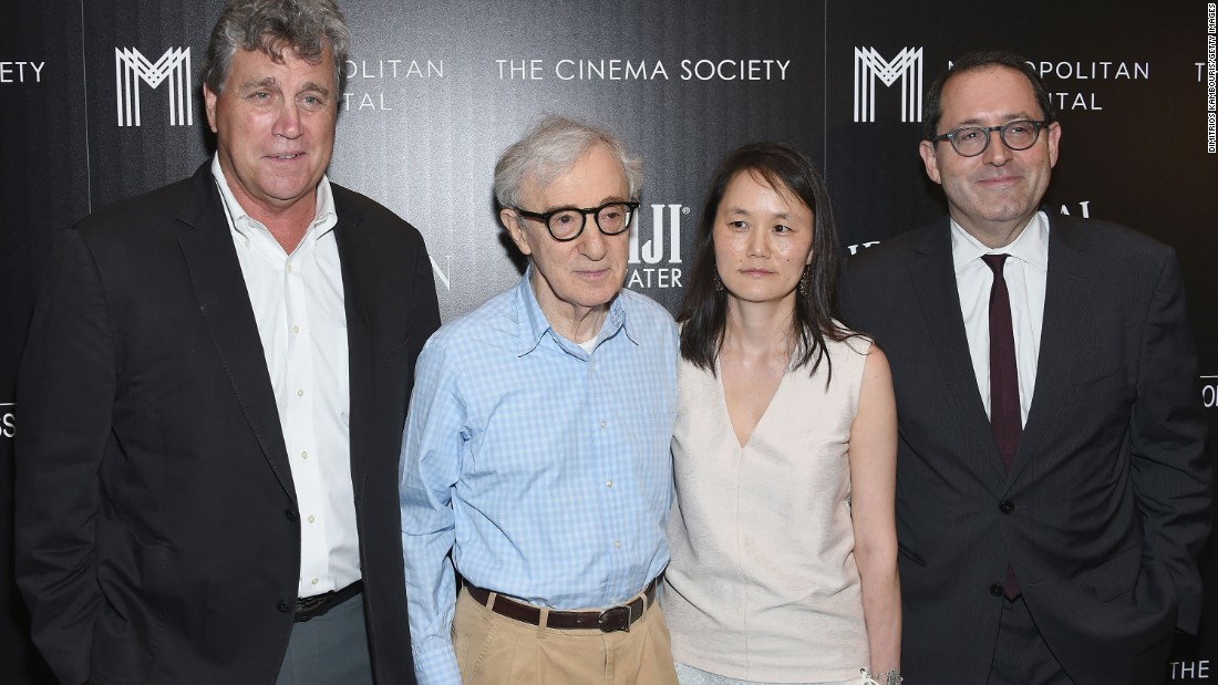 "Director Woody Allen, second from left, has given us classics such as ""Annie Hall"" and ""Midnight in Paris."" In collective box office, his movies have made $578 million."