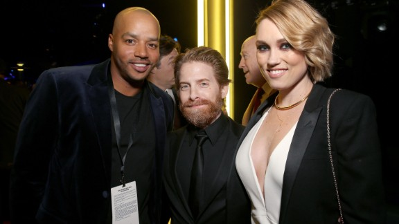 "Seth Green, center, best known for his roles in the ""Austin Powers"" series and ""Family Guy,"" is worth about $25 million."