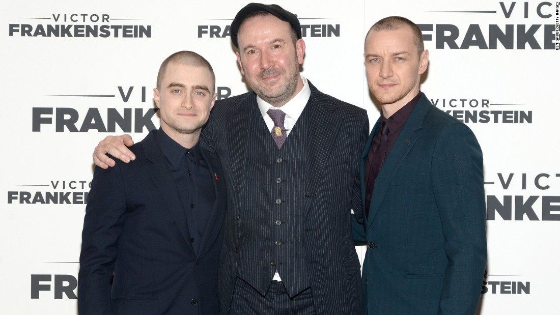 "Daniel Radcliffe, left, is the star of the hit movie franchise ""Harry Potter."" His collective box office comes to $2.5 billion. <br />"