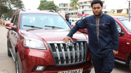 Kwadwo Safo Jr, CEO of Kantanka Group