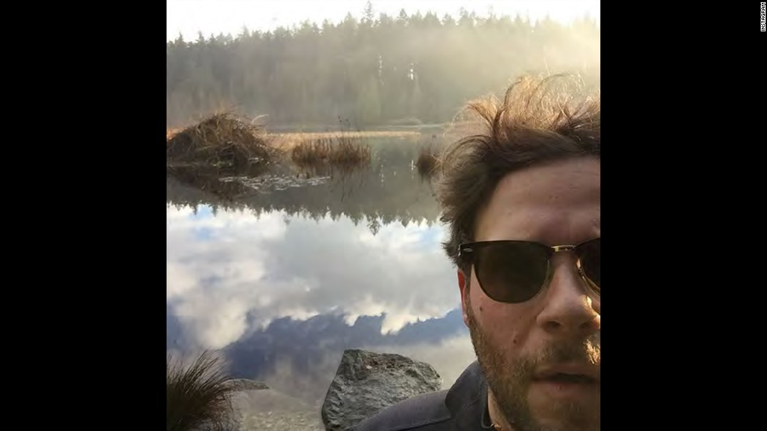 """This lake is made of clouds,"" <a href=""https://www.instagram.com/p/_uV5ZSQFzy/?taken-by=sethrogen"" target=""_blank"">actor Seth Rogen said on Instagram</a> on Friday, December 25."