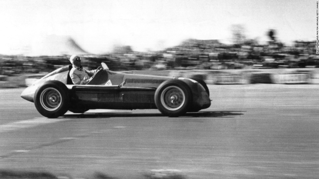 F1 has been leading the way in motorsport since 1950. Guiseppe Farina, seen here winning at Silverstone for Alfa Romeo, won the inaugural drivers' world championship.