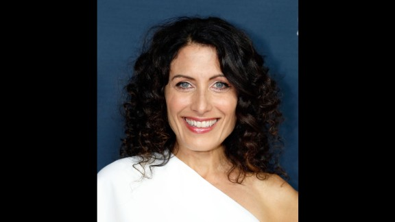 """""""House"""" co-star Lisa Edelstein mared 50 years on May 21."""