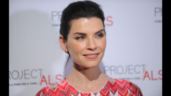"""The """"Good Wife"""" hits the big one: Julianna Margulies turned 50 on June 8."""