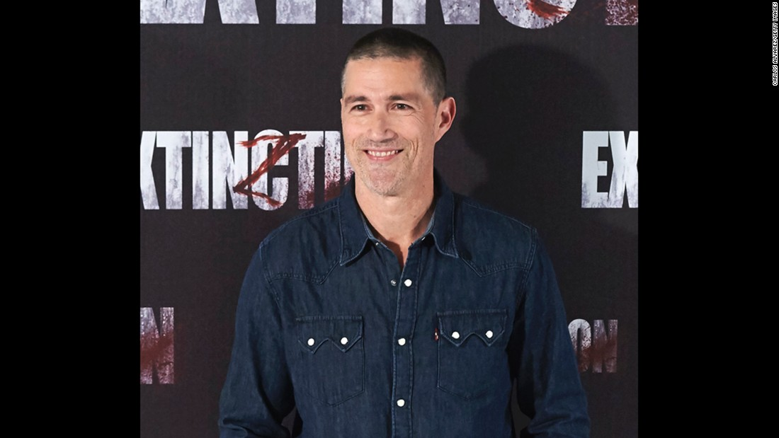 """Lost"" actor Matthew Fox turned 50 on July 14."