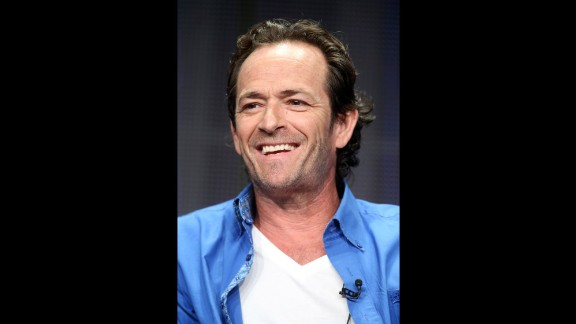 """Where has time gone? """"Beverly Hills 90210"""" co-star Luke Perry turned 50 on October 11."""