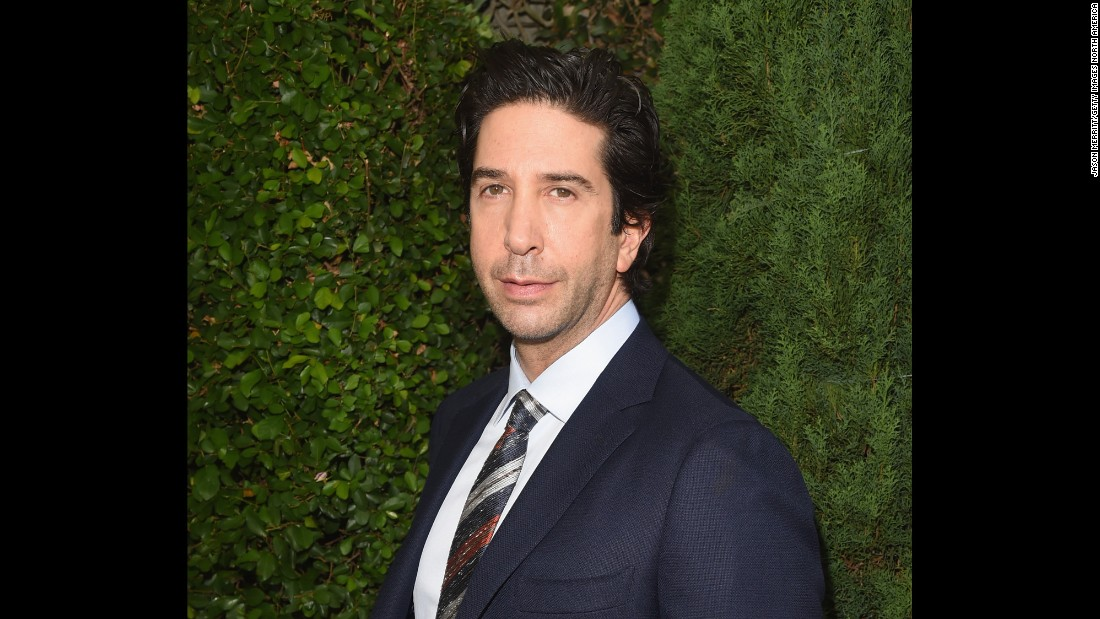 """Friends"" will probably rally around David Schwimmer on November 2."